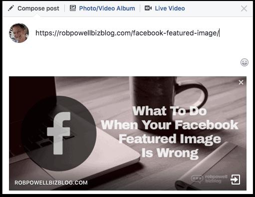 Facebook featured image