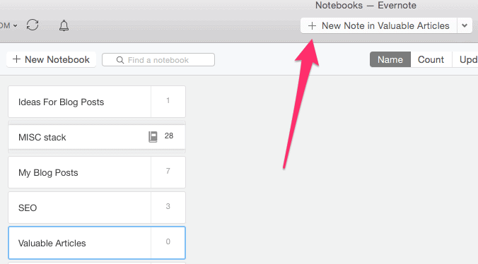 How To Use Evernote To Increase Your Productivity