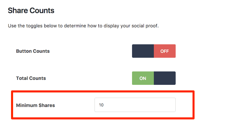 The settings I use in Social Warfare plugin