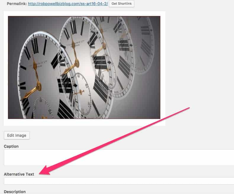 How to add Image Alt Attributes in WordPress