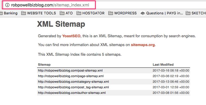 Adding a sitemap to a WordPress site