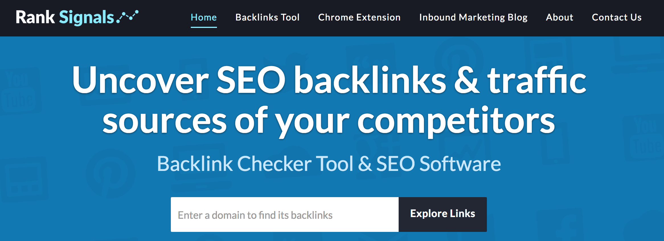 ranksignals competitor analysis tools