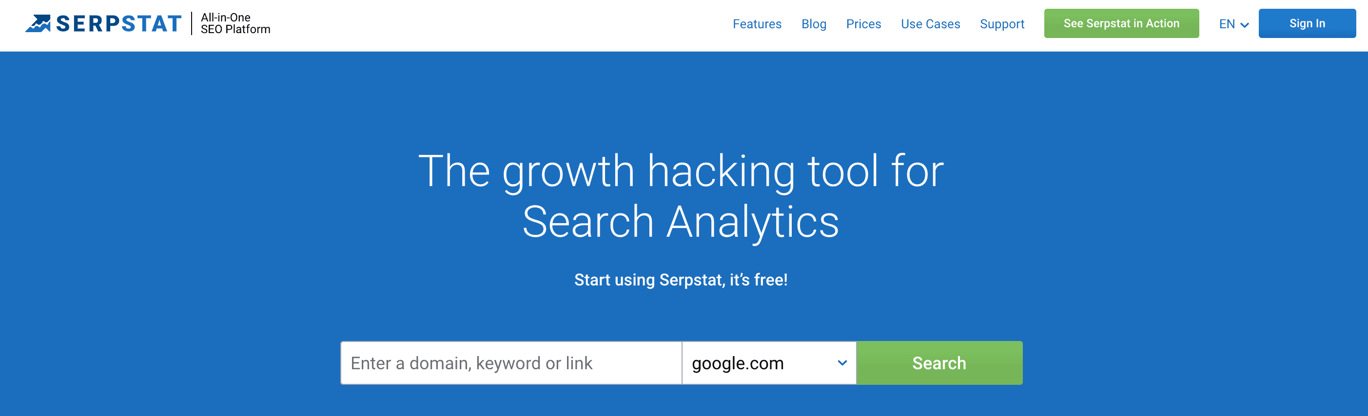 serpstat competitor analysis tools