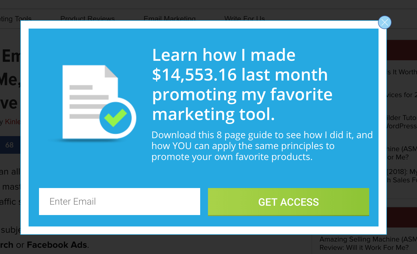 opt-in form example