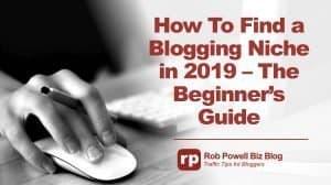 find a blogging niche