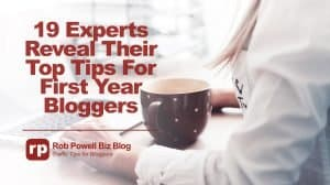 tips for first year bloggers