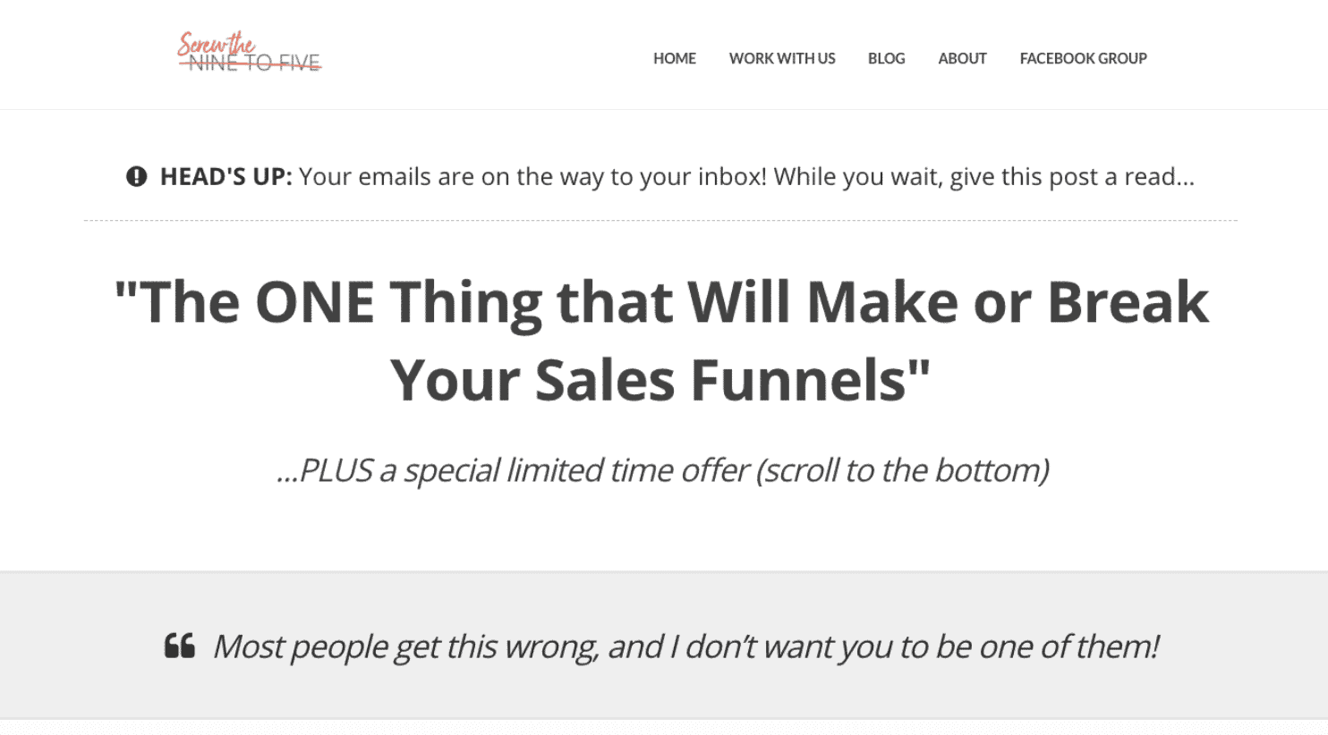 email marketing sales funnel