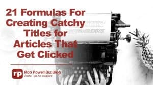 catchy titles for articles
