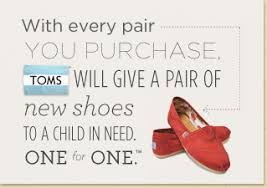 toms shoes - storytelling