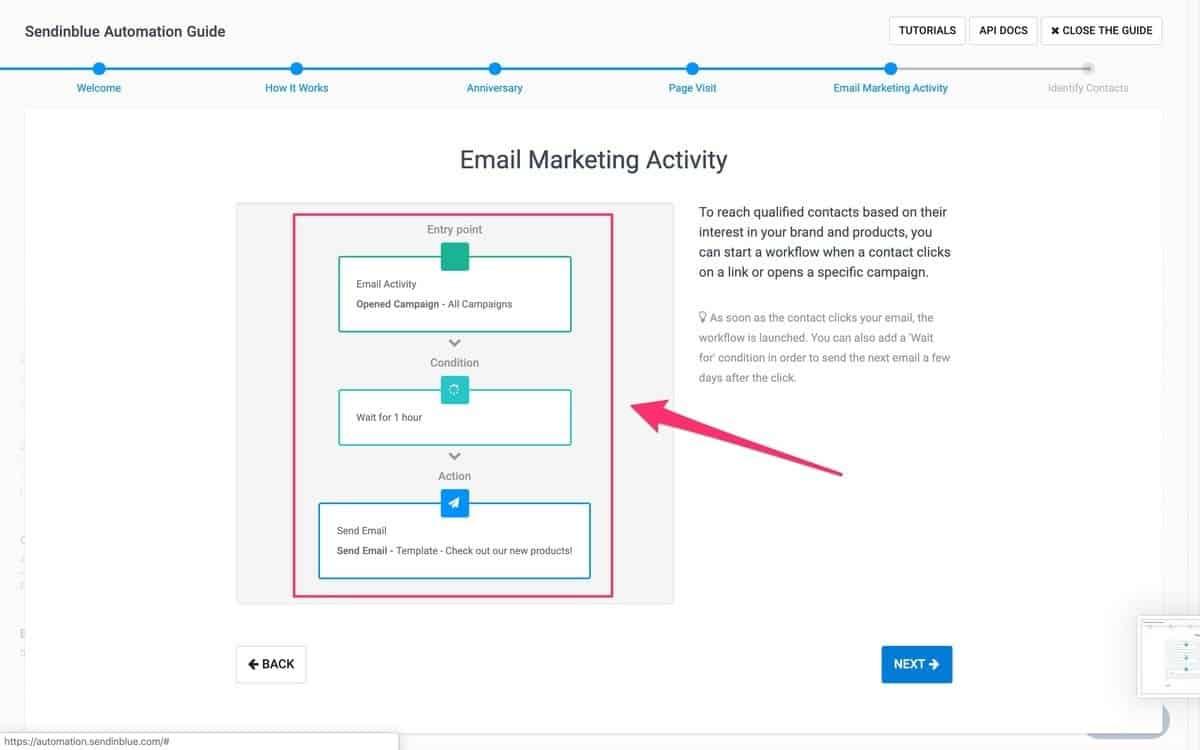 email marketing service - sendinblue
