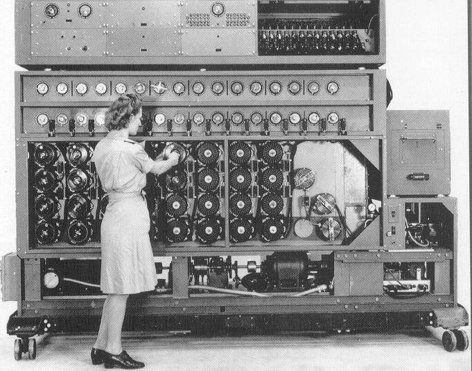 The Turing machine, forerunner of the modern computer
