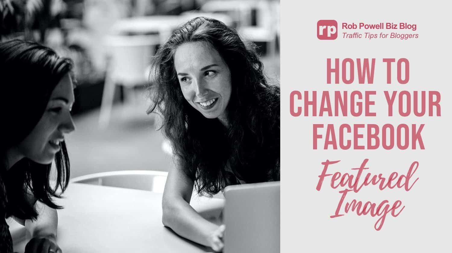 how to change your facebook featured image