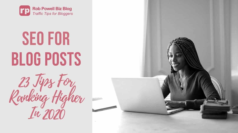 référencement pour les articles de blog