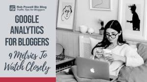 google analytics for bloggers