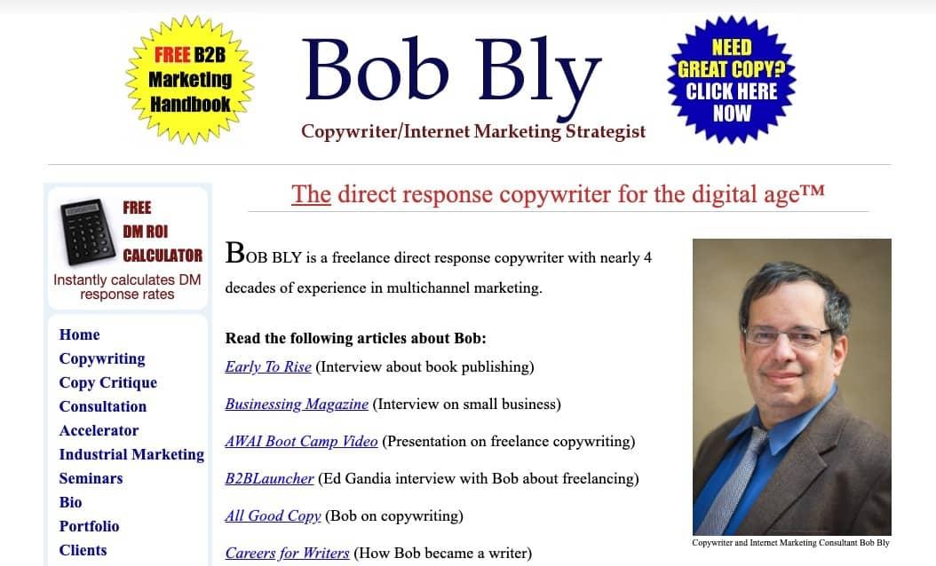 bob bly copywriter