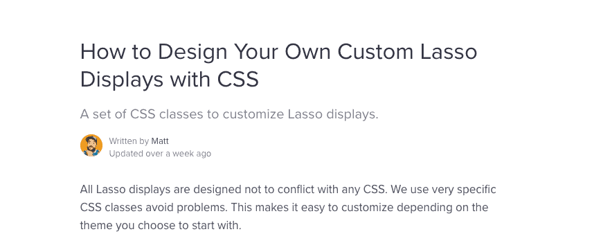 design your own custom Lasso display box