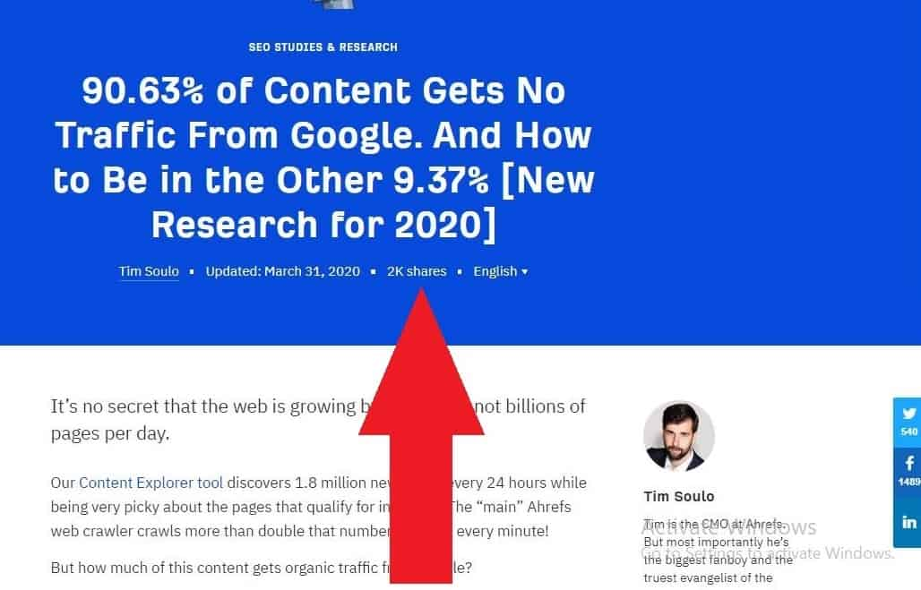 original research attracts organic backlinks