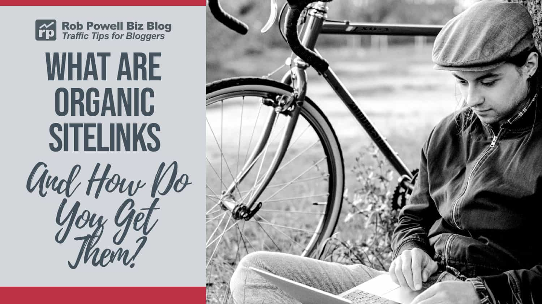 what are organic sitelinks