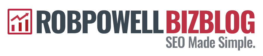 Rob Powell Biz Blog - SEO Made Simple
