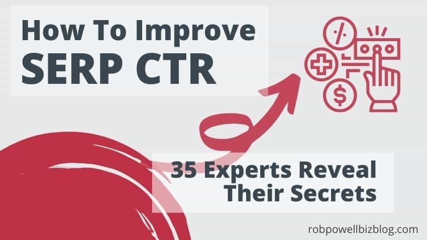 improve SERP CTR