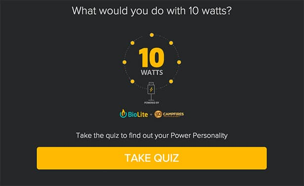 quizzes for lead generation