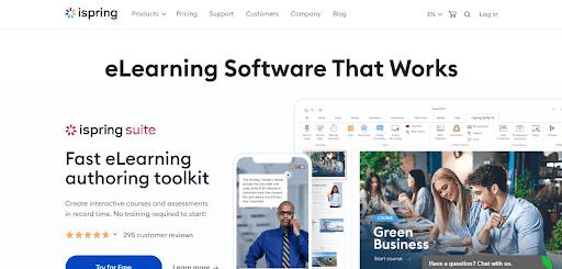 iSpring Online Quiz Maker