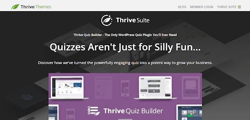 Thrive Themes Quiz Builder