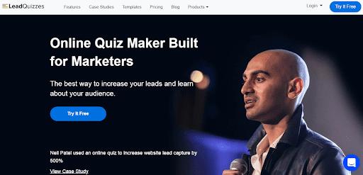LeadQuizzes Online Quiz Maker