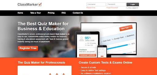 ClassMarker Online Quiz Maker