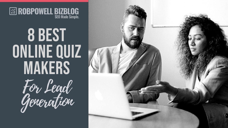 online quiz makers