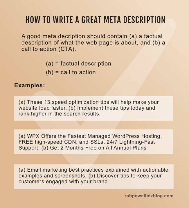 how to write a great meta description