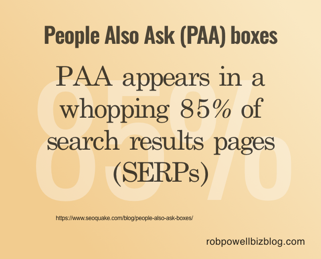 People Also Ask (PAA) boxes - 01
