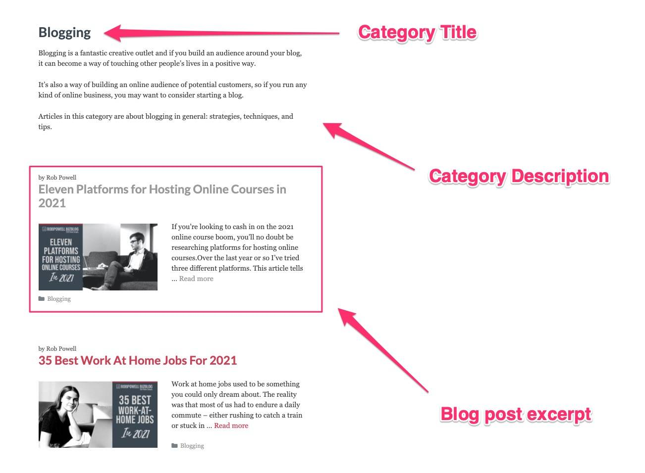 what are category pages - 04