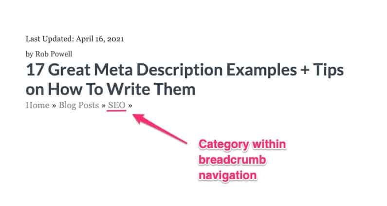 categories in breadcrumb navigation - 01