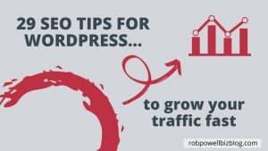 29 SEO tips for WordPress
