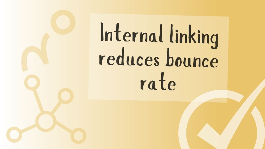 internal linking reduces bounce rate