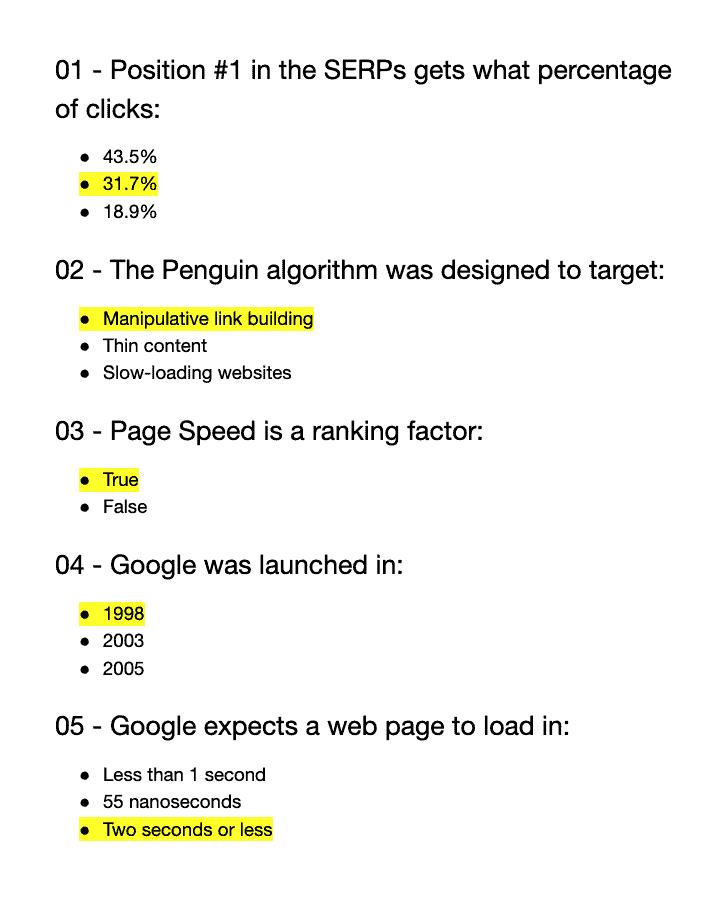 examples of quiz questions