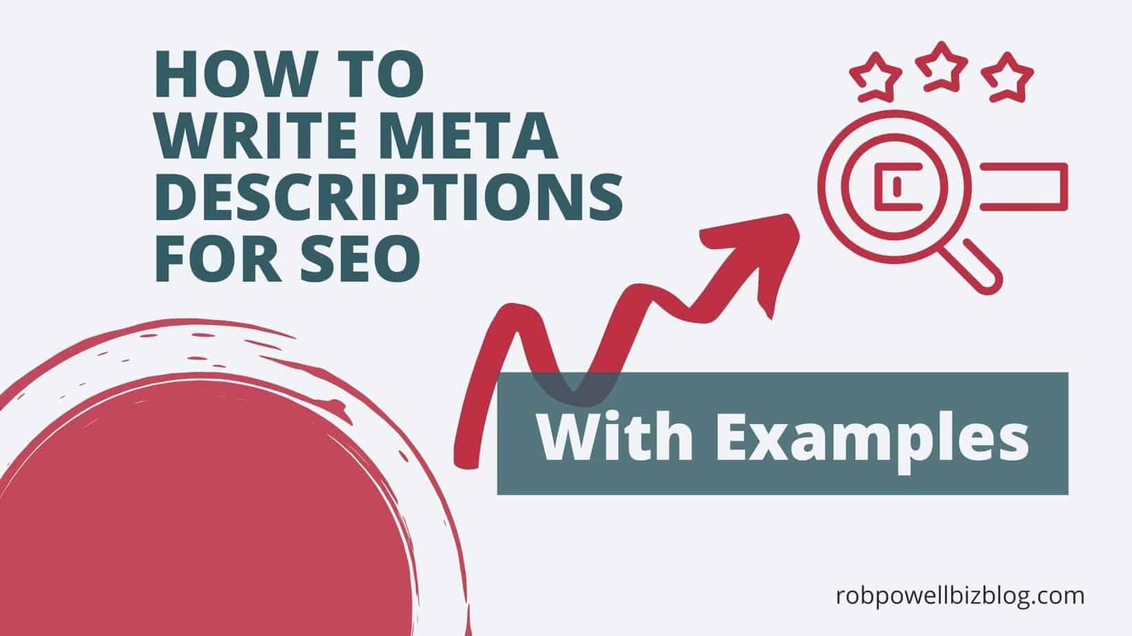 write meta descriptions for seo