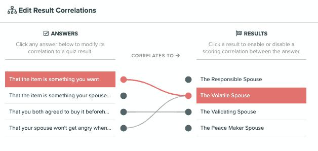 quiz correlations