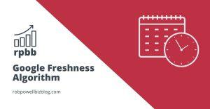 Google Freshness Algorithm