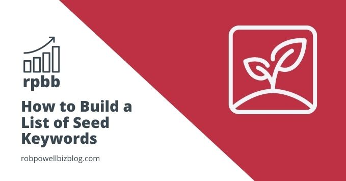 Build a List of Seed Keywords