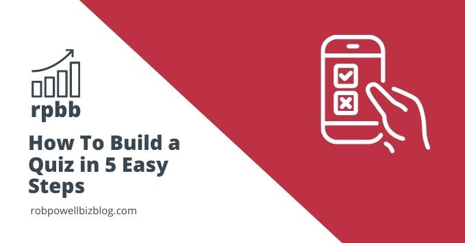 build a quiz in 5 easy steps