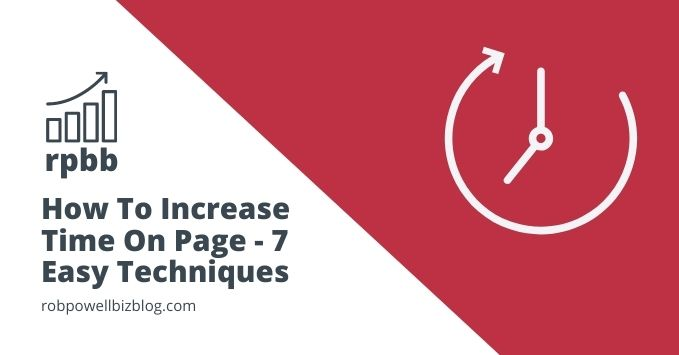 increase time on page