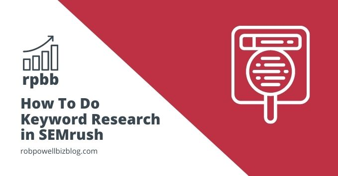 how to keyword research in semrush