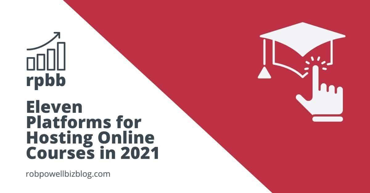 platforms for hosting online courses