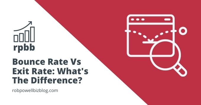 bounce rate vs exit rate